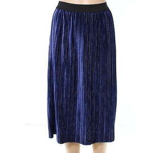Free Press water Velvet Skirt